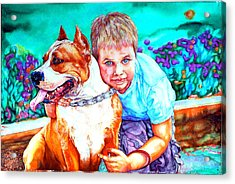 Zac And Zuzu Acrylic Print