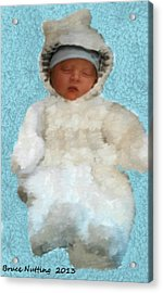 Acrylic Print featuring the painting Zachary by Bruce Nutting