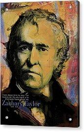 Zachary Taylor Acrylic Print