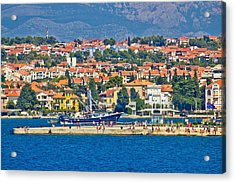Zadar Waterfront Sea Organs View Acrylic Print