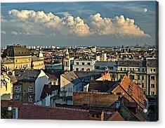 Zagreb Rooftops Acrylic Print