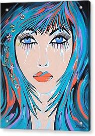 Acrylic Print featuring the painting Zahara by Kathleen Sartoris