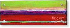 Zanja Acrylic Print by Lou Gibbs