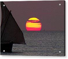 Zanzibar Sunset Acrylic Print by Giorgio Darrigo