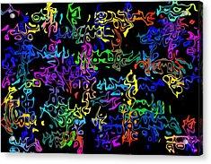 Zblerps Acrylic Print