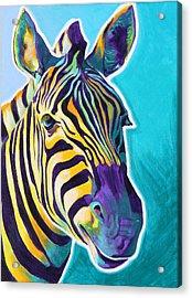 Zebra - Sunrise Acrylic Print by Alicia VanNoy Call