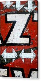 Zees Way Pleez Acrylic Print