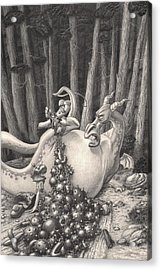Zelma And The Not-quite-a-dragon Acrylic Print