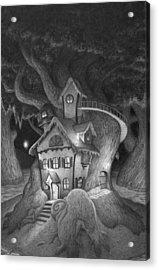 Zelma's House Acrylic Print by Richard Moore