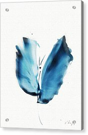 Zen Butterfly Acrylic Print by Frank Bright