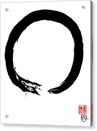 Zen Circle Four Acrylic Print