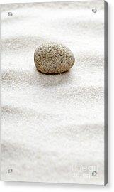 Zen Concept Acrylic Print by Shawn Hempel