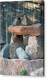 Zen Do Acrylic Print by Minnie Lippiatt