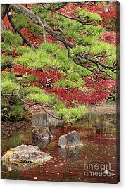 Zen Acrylic Print by Eena Bo