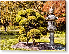 Acrylic Print featuring the photograph Zen Garden by Anthony Citro