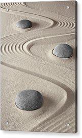 Zen Garden Acrylic Print by Dirk Ercken