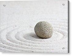 Zen Garden Acrylic Print by Shawn Hempel