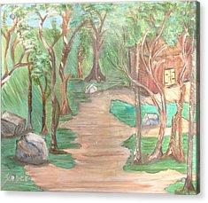 Zen House Acrylic Print