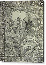 Zen Orchids Acrylic Print