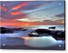 Zen Set Acrylic Print