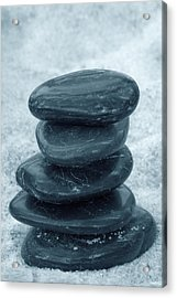 Zen Stones Acrylic Print