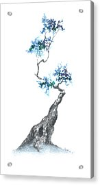 Zen Tree 840 Acrylic Print by Sean Seal