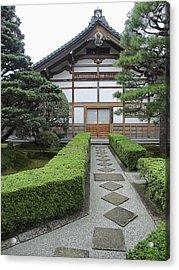 Zen Walkway - Kyoto Japan Acrylic Print