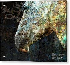 Zeniah Variation 8 Acrylic Print by Judy Wood