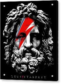 Zeus Stardust Acrylic Print by Filippo B