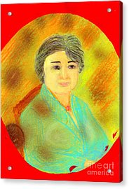 Zhang Yin Queen Of Containerboards Great Chairwoman Of Nine Dragons Paper Industries Acrylic Print by Richard W Linford