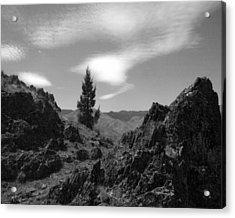 Acrylic Print featuring the photograph Zig Zag Sky by Tarey Potter
