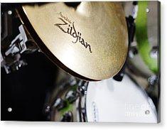 Zildjian Hi-hat Acrylic Print