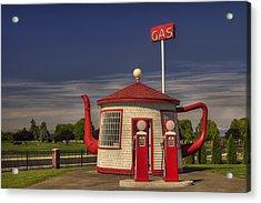 Zillah Teapot Dome Service Station Acrylic Print