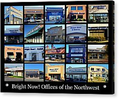 Acrylic Print featuring the photograph Zimmer Dental Partners With Bright Nows by Benjamin Yeager