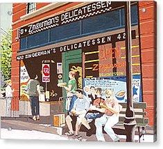 Zingerman's Acrylic Print by Paul Guyer