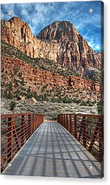 Zion Connection Acrylic Print