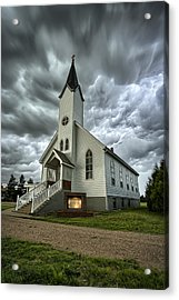 Zion Luthern Church Acrylic Print