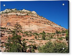 Acrylic Print featuring the photograph Zion National Park by Robert  Moss