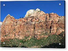 Zion Wall Acrylic Print