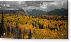 Zirkel Mountain Range Acrylic Print