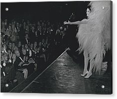 Zizi Jea Nmaire Stars In Olympia Show Acrylic Print by Retro Images Archive