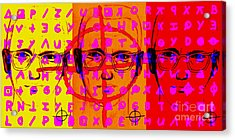 Zodiac Killer Three With Code And Sign 20130213 Acrylic Print