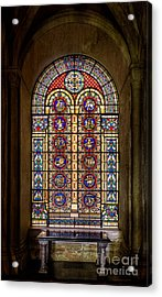 Zodiac Window Acrylic Print