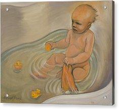 Zoe's Bath Acrylic Print