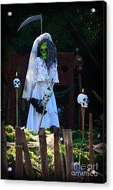 Zombie Bride Acrylic Print by Patrick Witz