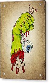 Zombie Hatred Acrylic Print