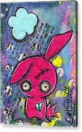 Zombiemania 1 Acrylic Print by Lizzy Love