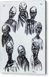 Zombies Acrylic Print