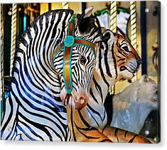 Zoo Animals 2 Acrylic Print by Marty Koch