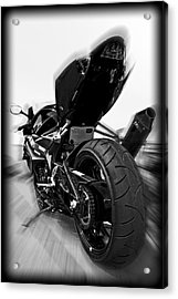 Zoomed Gsxr Acrylic Print